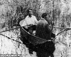 Самодельная двухместная складная лодка для рыболовов и охотников своими руками