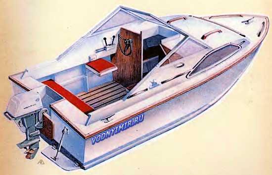 Проект каютного катера из фанеры своими руками