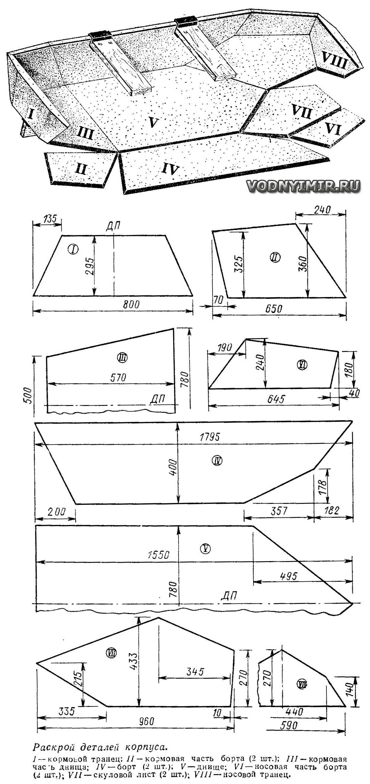 Проекты катеров, лодок и яхт для самостоятельной постройки 47