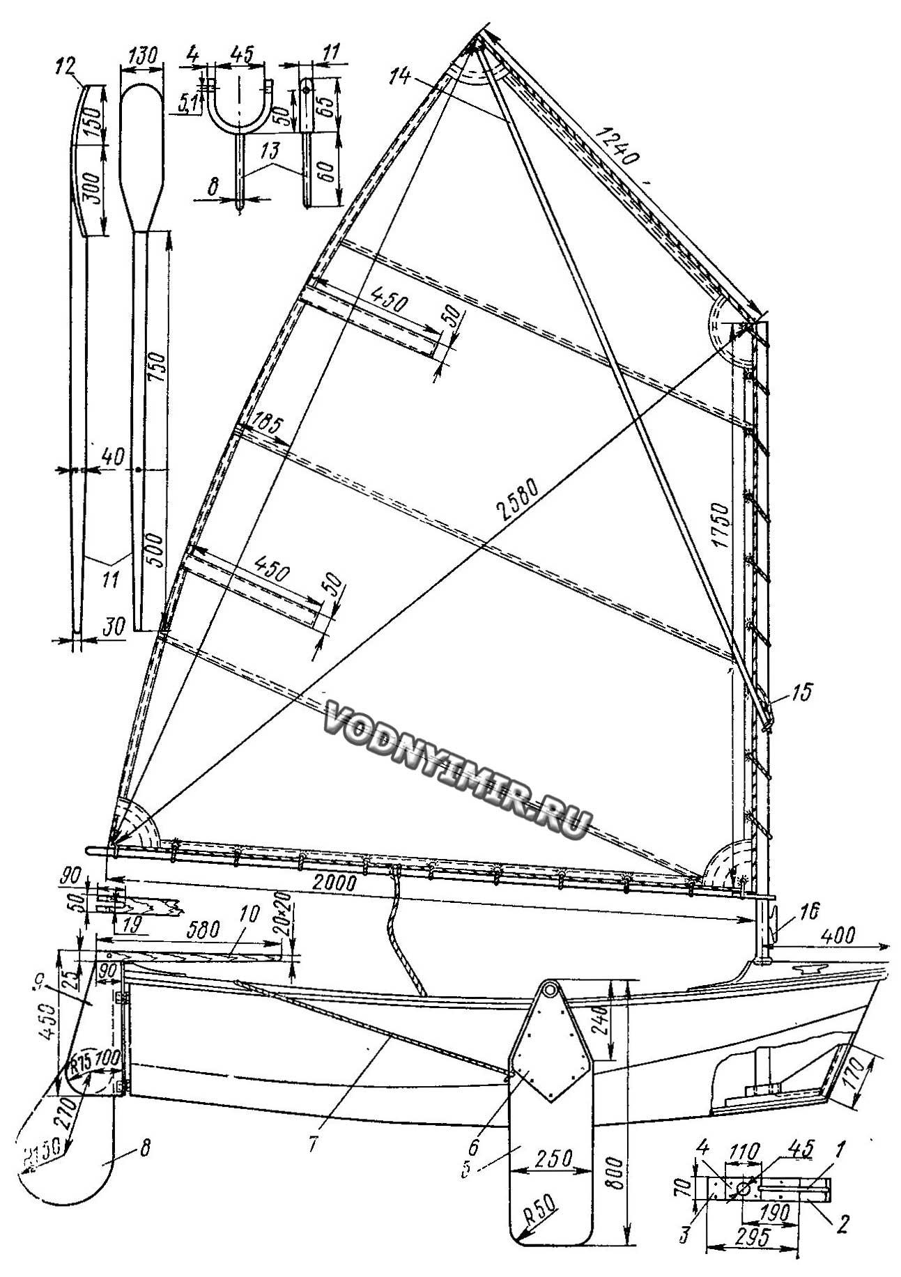 Подвесной универсальный парус Антеро Катайнена (Проекты) 13