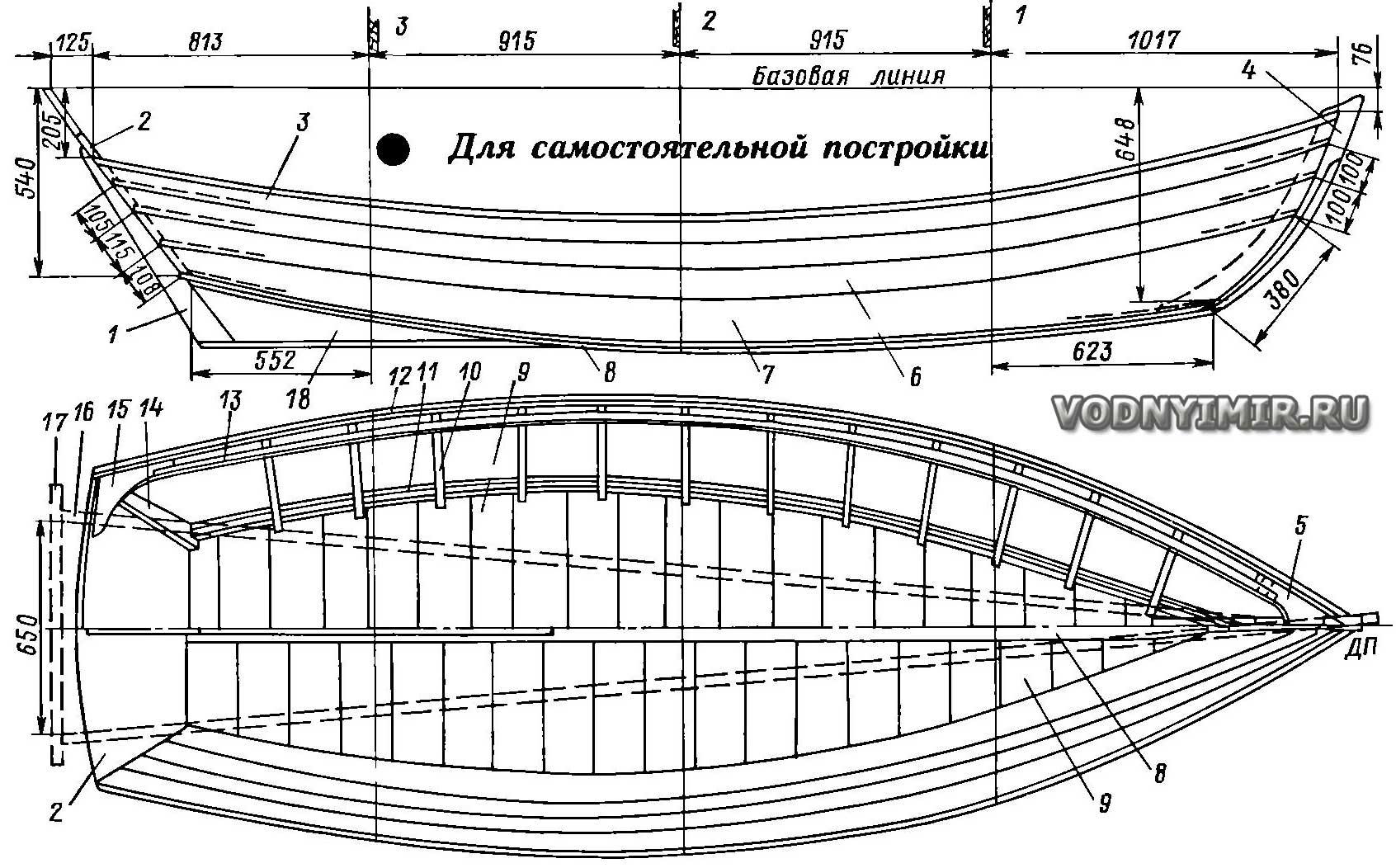 Плоскодонная лодка своими руками чертежи 99