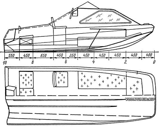 каютная лодка из фанеры своими руками