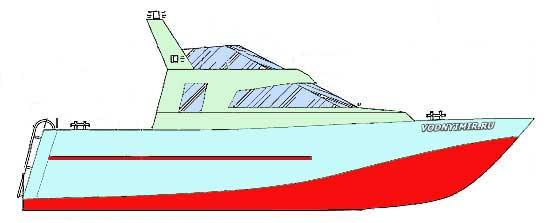 Проект катера «Амадеус». Постройка стального катера своими руками