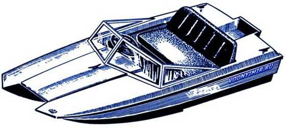 Моторный катамаран «Лангуст». Проект для самостоятельной постройки катамарана. Чертежи моторного катамарана «Лангуст»