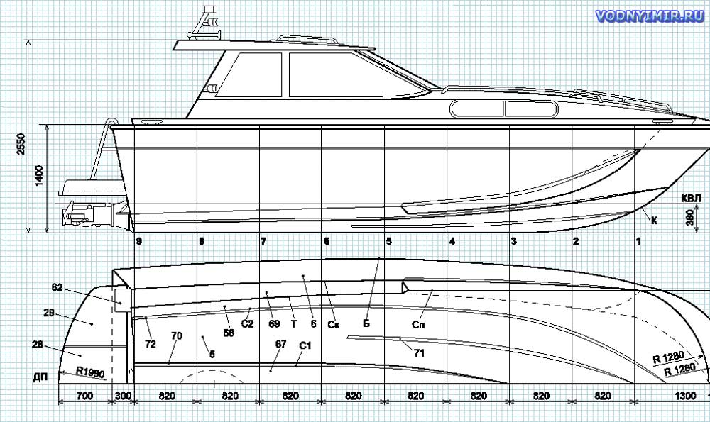 Как сделать корпус катера своими руками 55