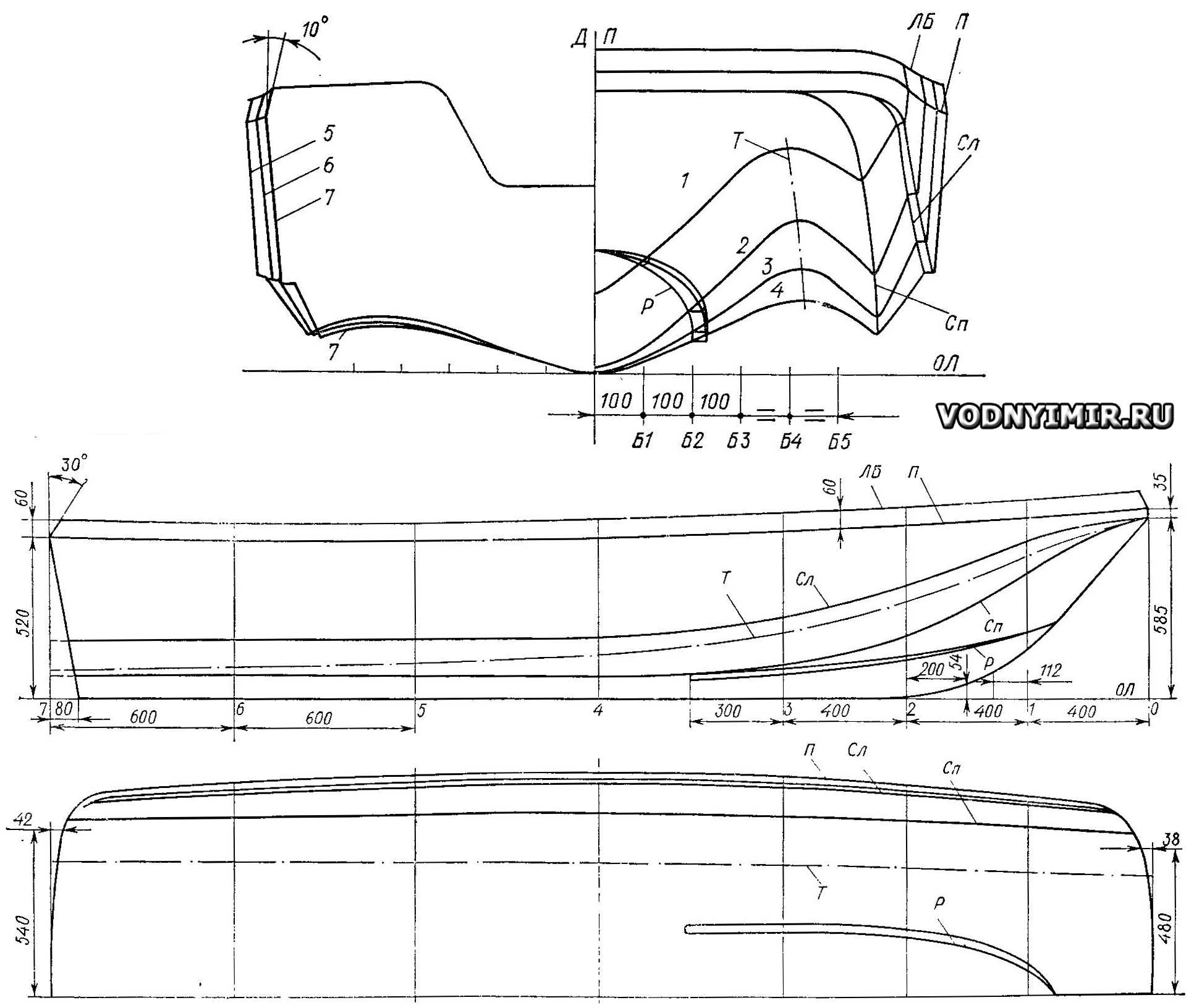 Как сделать гидроцикл своими руками чертежи фото из фанеры