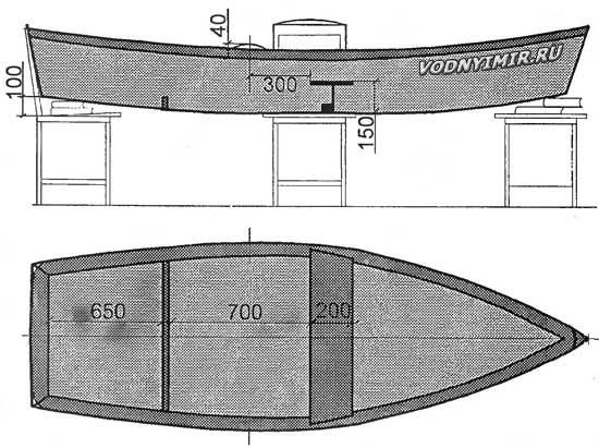 Как сделать лодку плоскодонку из фанеры своими руками чертежи и описание