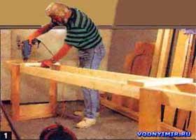 Для изготовления каноэ собственными силами нужно иметь сухое отапливаемое помещение