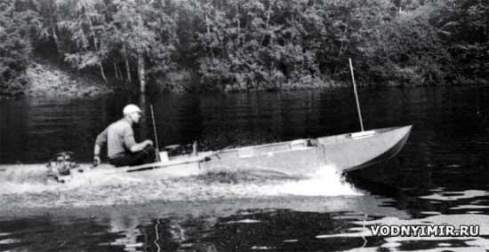 Трёхсексионная разборная лодка