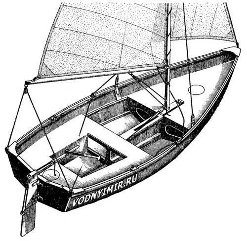Изготовление лодки из фанеры своими руками чертеж