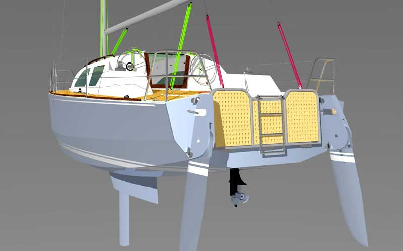 Трейлерные яхты компромисс своими руками построить