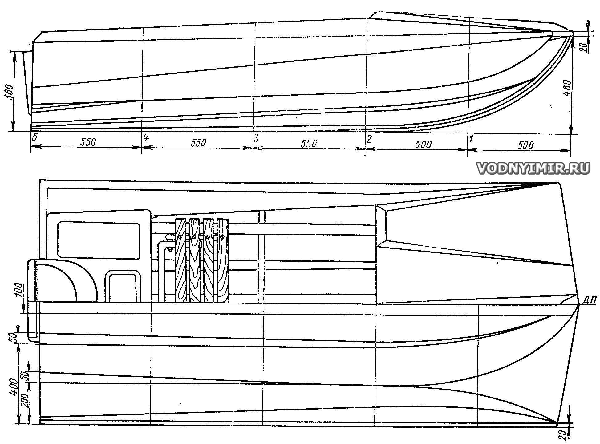 моторная лодка тримаран своими руками