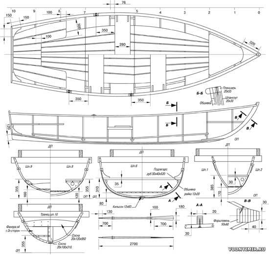 Конструктивные чертежи корпуса фофана