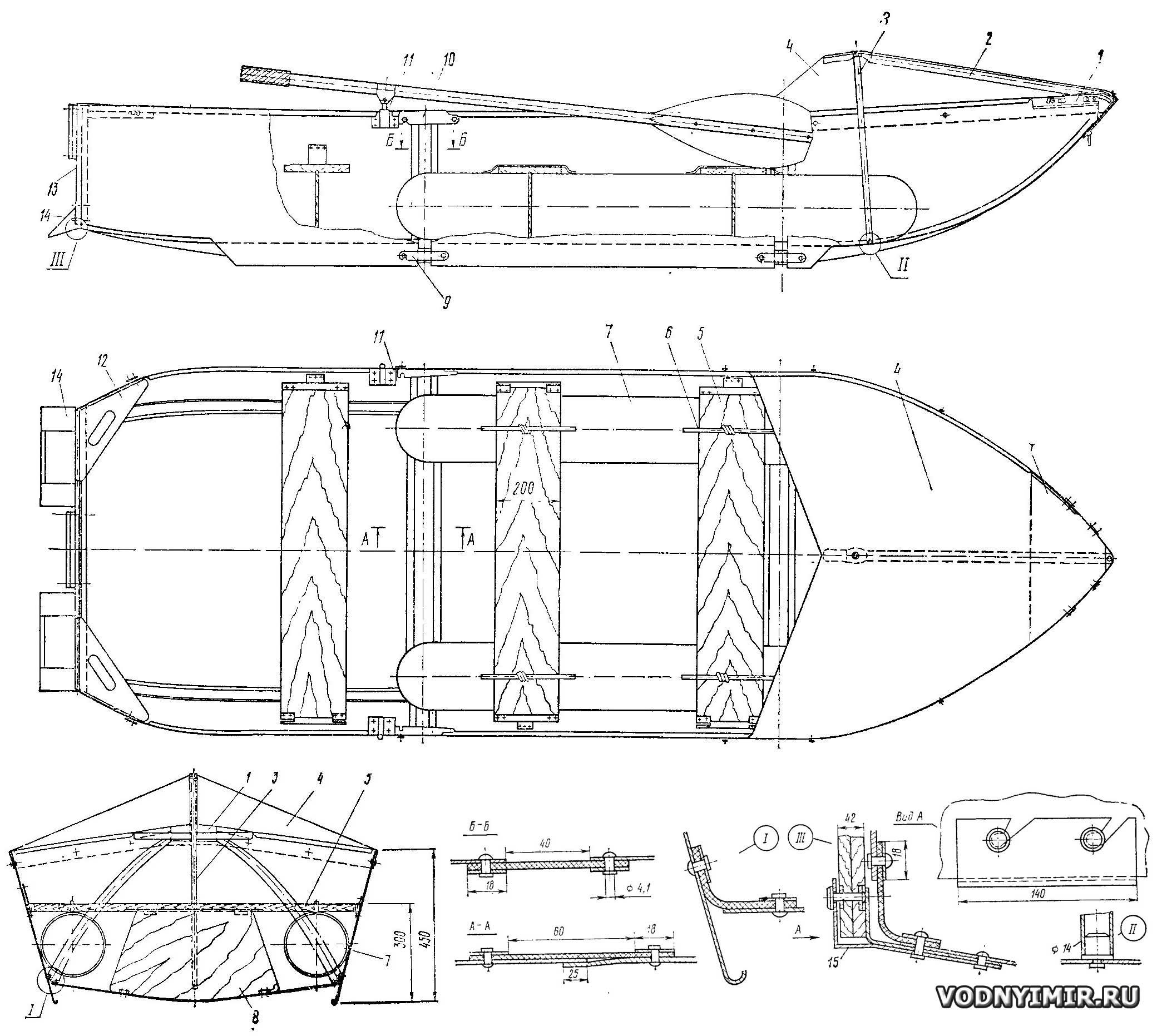 Проекты катеров, лодок и яхт для самостоятельной постройки 16