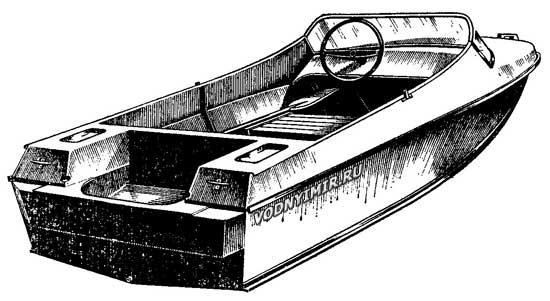 Лодка «Неман» — технические характеристики мотолодки «Неман»