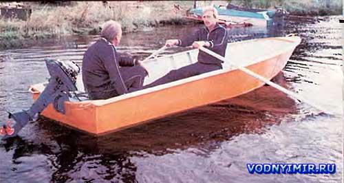 Схемы лодок дюралевых