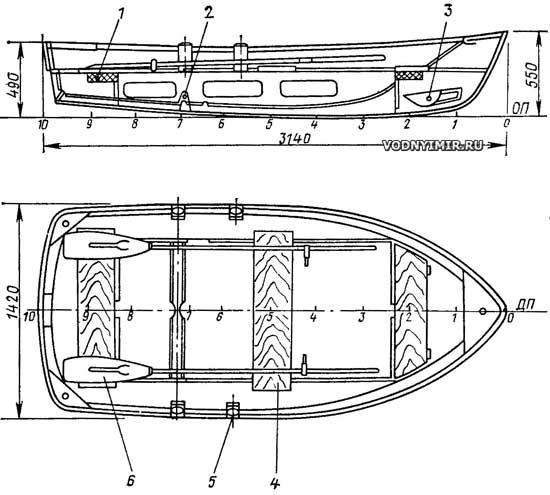 сделать лодку из металла своими руками чертежи