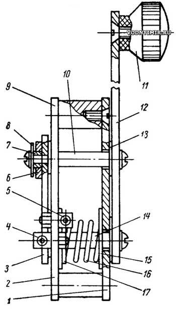 Самодельное дистанционное управление лодочным мотором