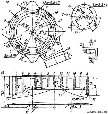 Лодочный мотор из бензопилы своими руками чертежи 21