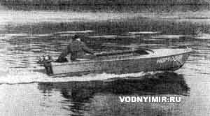 Лодка под водометным мотором