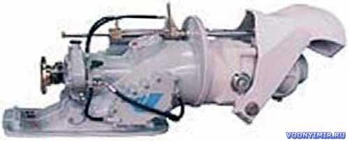 Осевой (прямоточный) водометный движитель