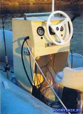 Рулевая консоль для надувных лодок – консоль управления для лодки ПВХ