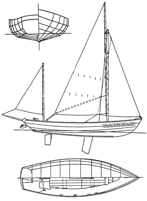 Теоретический чертеж, схема