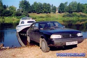 Перевозка тяжелого катера. Как перевезти катер легковым автомобилем