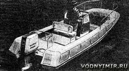 лодка бостонский китобой самодельная