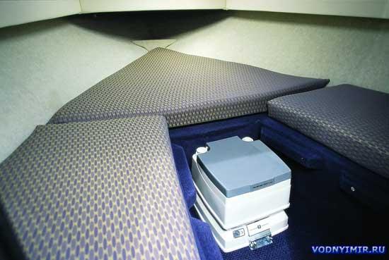лодка биотуалет